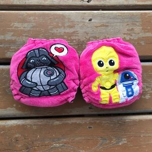 Maplebean One Size Star Wars Fitted Cloth Diapers